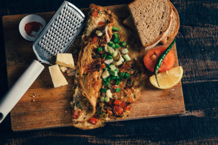 omelette recipe, glutenfreeindian