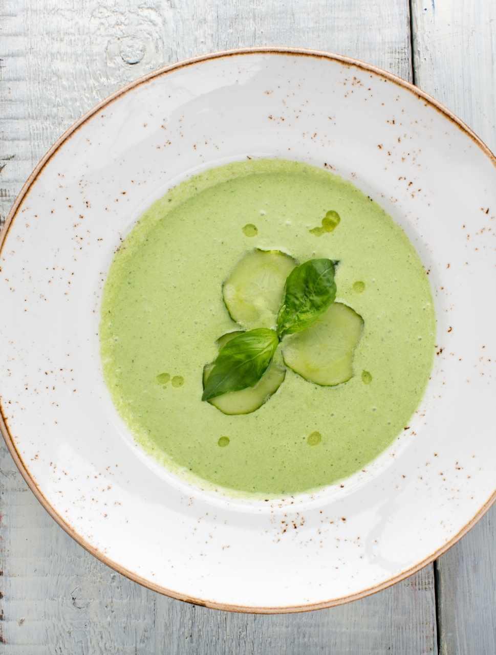cucumber gazpacho soup