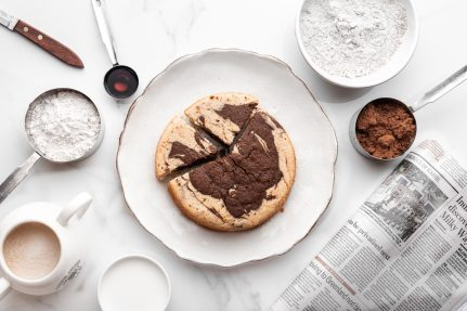 glutenfree chocolate marble cake