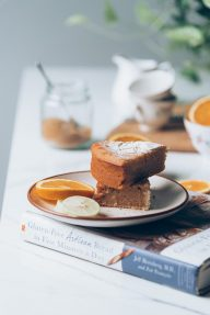 Lemon syrup and yogurt Gluten