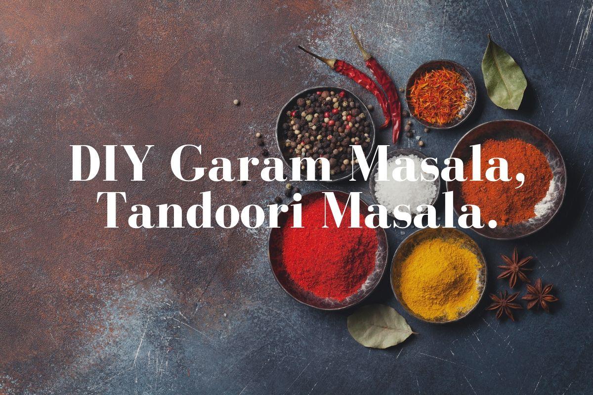 Gluten Free Garam Masala And Tandoori Masala Recipe