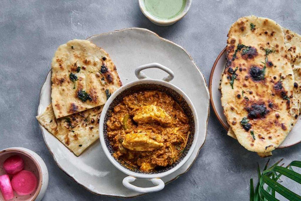 Restaurant Style Gluten-free Garlic Naan | No Oven | No Yeast | Vegetarian