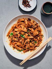 gluten-free dan dan noodles