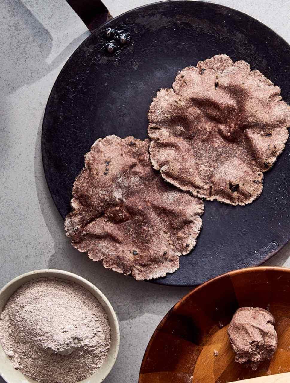 gluten-free ragi roti